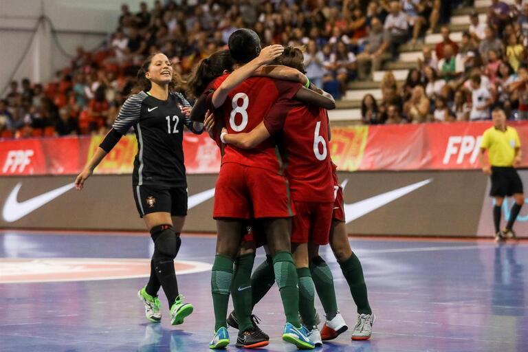Seleção feminina com tudo no Europeu