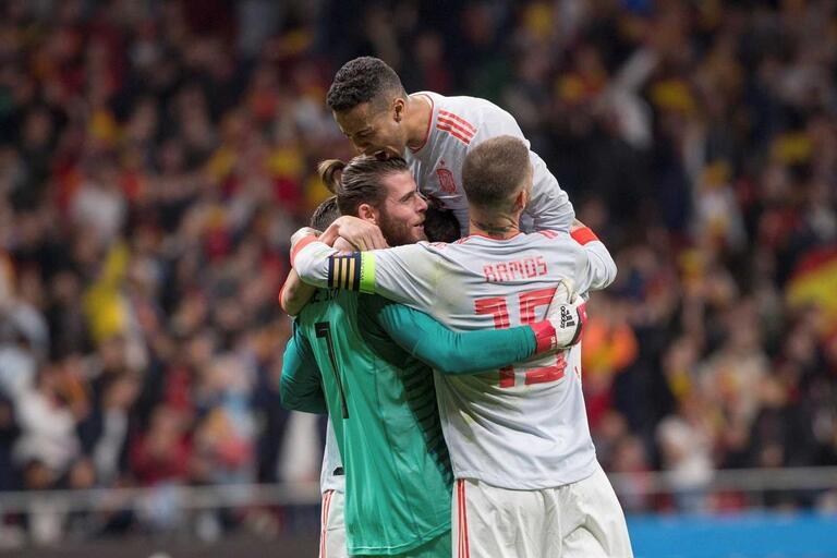 Para Portugal analisar  Espanha arrasa Argentina 3baed2d5a1355