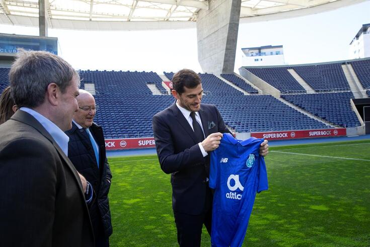 """Pinto da Costa acredita no regresso de Casillas a Madrid: """"Pode parecer impossível, mas..."""""""