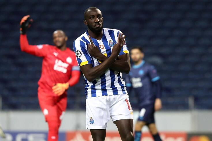 Marega marcou no estádio do Porto Marselha