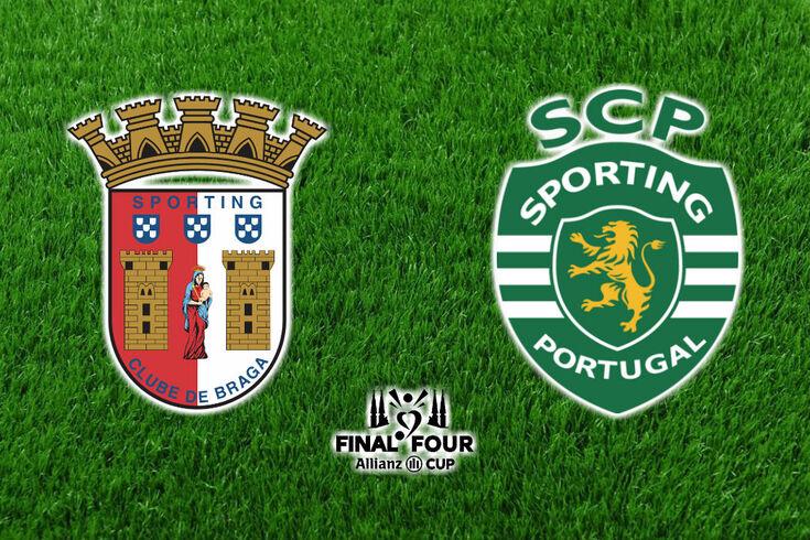 DIRETO | Braga-Sporting