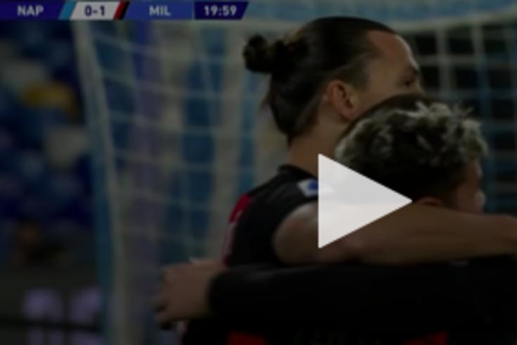 Ibrahimovic voltou a marcar