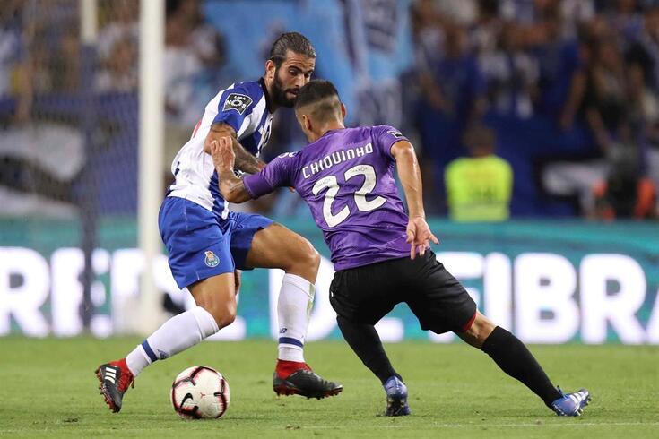 """Chiquinho sobre o jogo com o FC Porto: """"A segunda parte foi toda nossa"""""""
