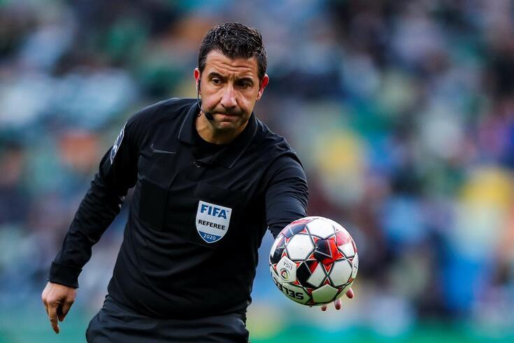 Hugo Miguel, da AF Lisboa, é o árbitro do grande jogo entre Benfica e Braga