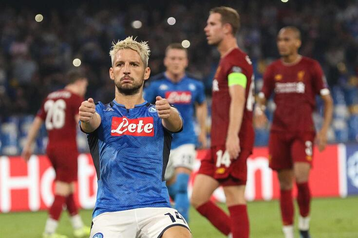Liverpool derrotado em Nápoles