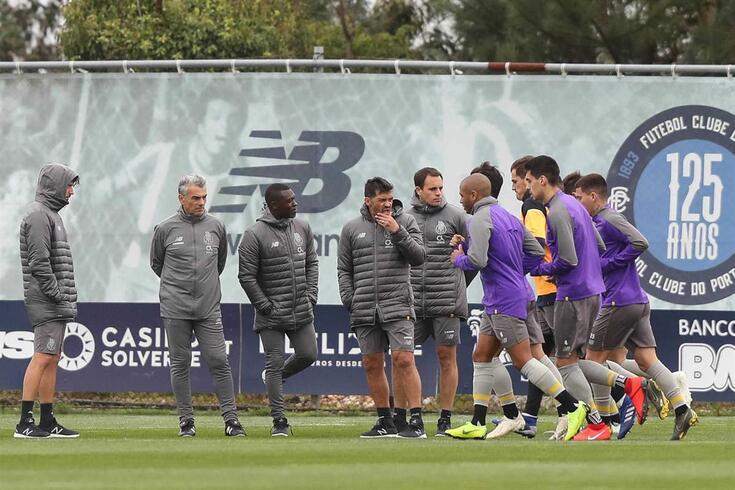 FC Porto com uma ausência no início da preparação para o Liverpool