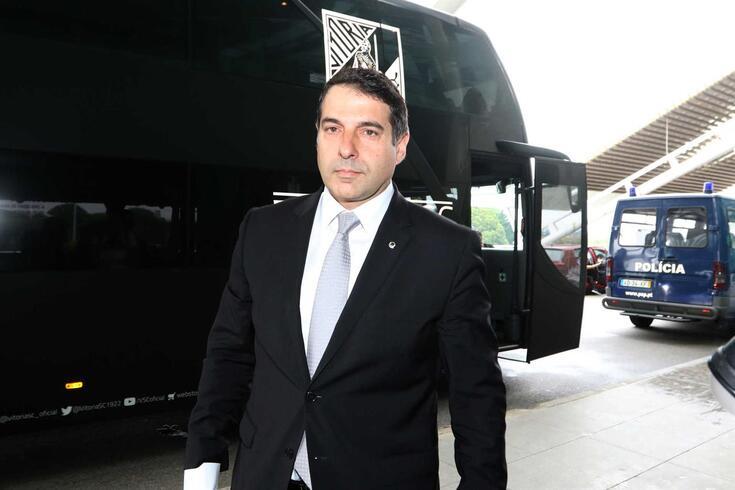Pinto Lisboa, presidente do V. Guimarães