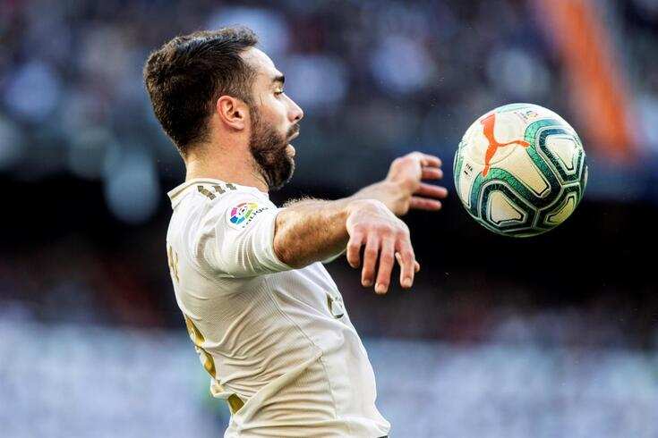 Carvajal, lateral do Real Madrid