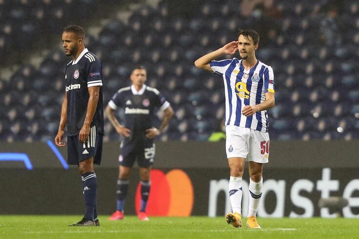 Renovação de Fábio Vieira em curso no FC Porto
