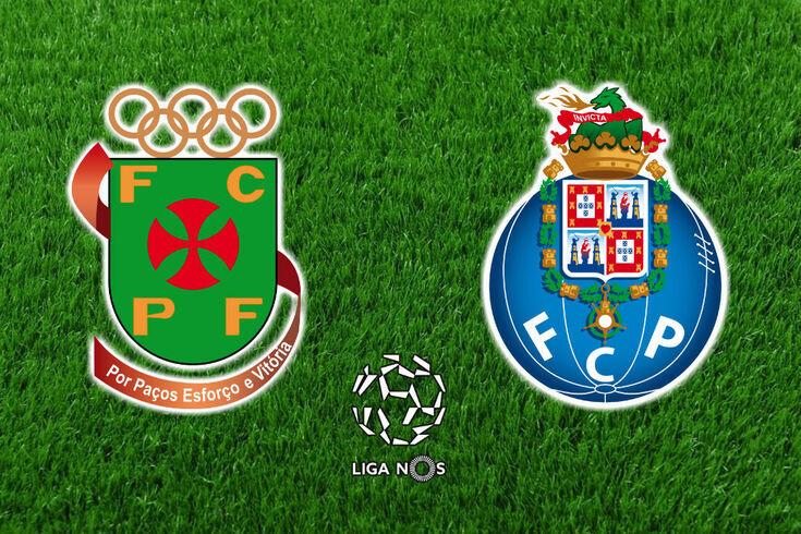 DIRETO   Paços de Ferreira-FC Porto