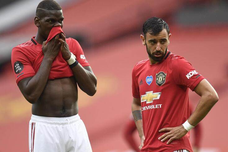 Bruno Fernandes tem ajudado Pogba
