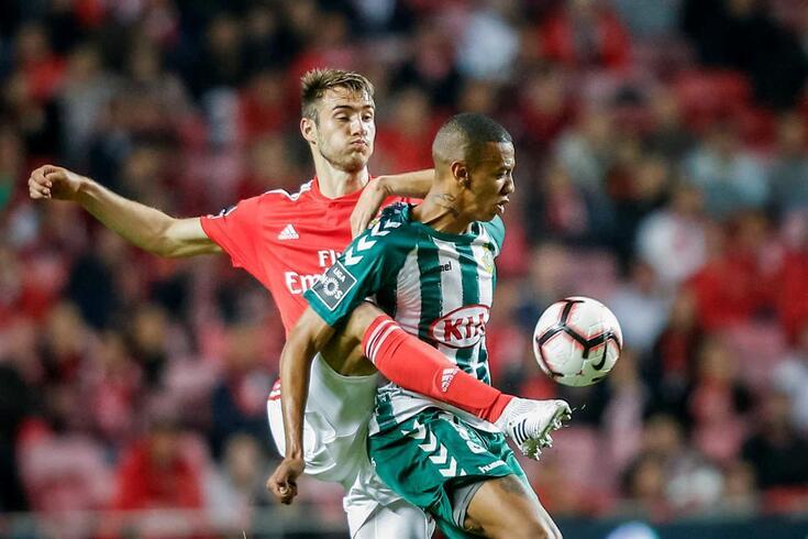 Francisco Ferro, central do Benfica