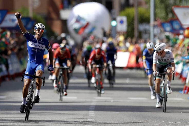 Vuelta: Philippe Gilbert vence e Nairo Quintana salta para segundo