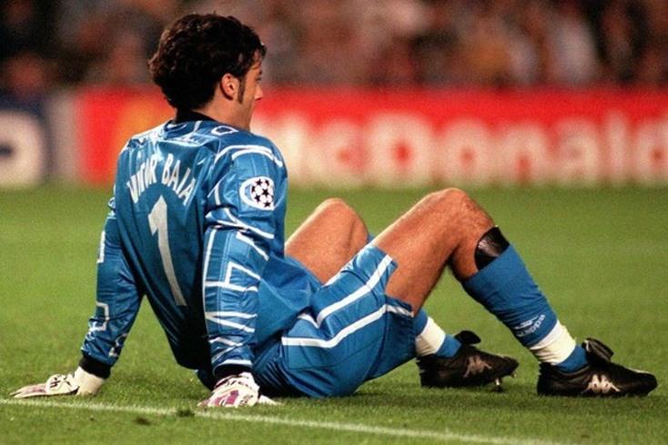 Vítor Baía representou o Barcelona entre as duas passagens pelo FC Porto