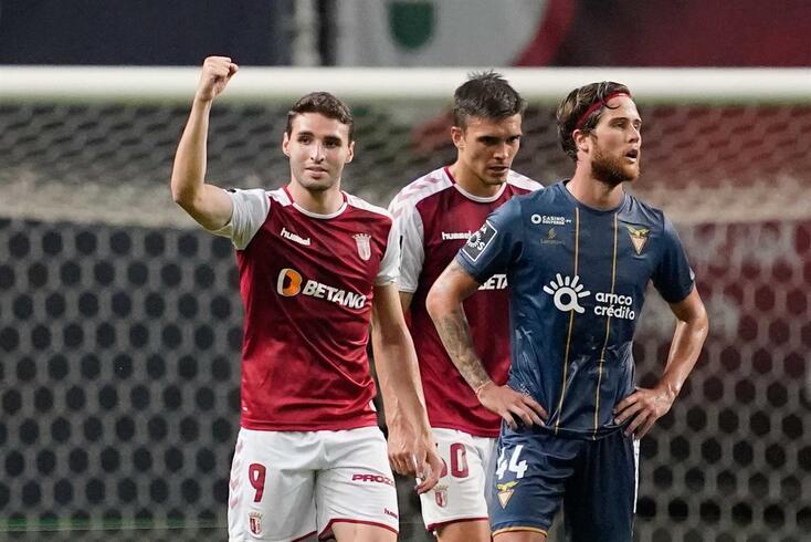 Abel Ruiz marcou o terceiro golo do Braga frente ao Aves