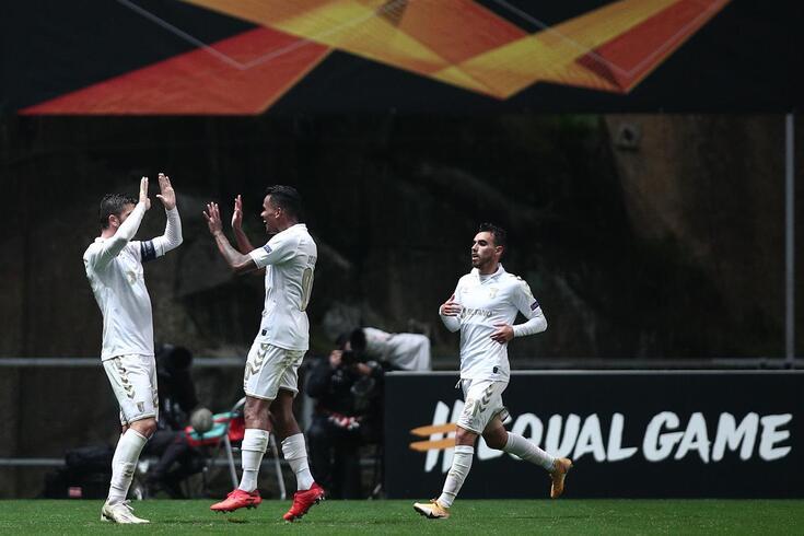Braga venceu o AEK na primeira ronda
