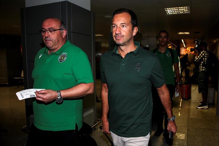 Frederico Varandas comentou as hipóteses Mourinho e Jardim
