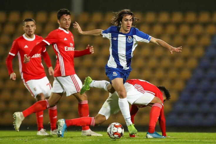 """Tomás Esteves alinhou pelo FC Porto B na vitória sobre os """"bês"""" do Benfica."""