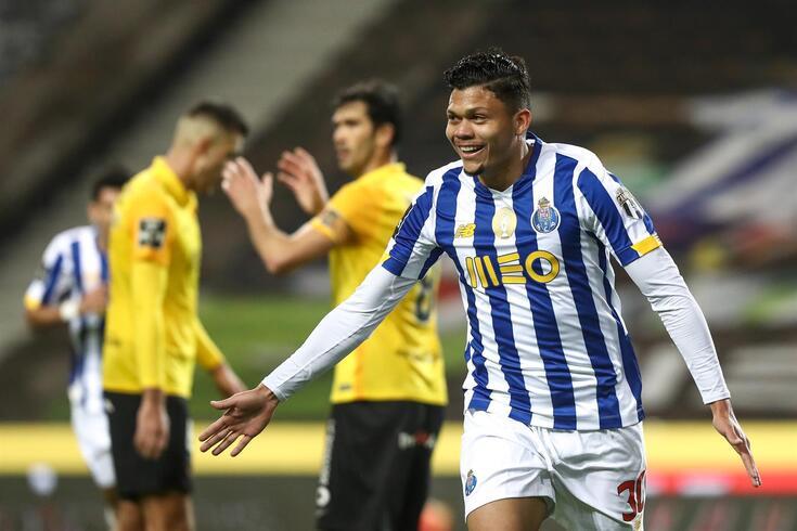 Evanilson leva quatro golos em 15 jogos pelo FC Porto