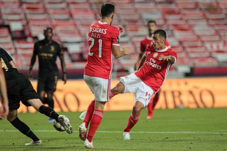 Lisboa, 14/07/2020 - O Sport Lisboa e Benfica recebeu esta noite no Estádio da Luz, em Lisboa, o Vitória