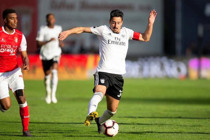 André Almeida, lateral do Benfica