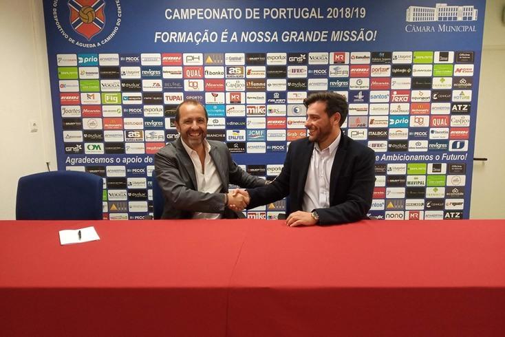 André Ribeiro, novo treinador do Águeda