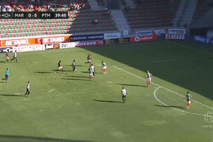 Marítimo-Portimonense: golaço de Lucas Fernandes a abrir o marcador