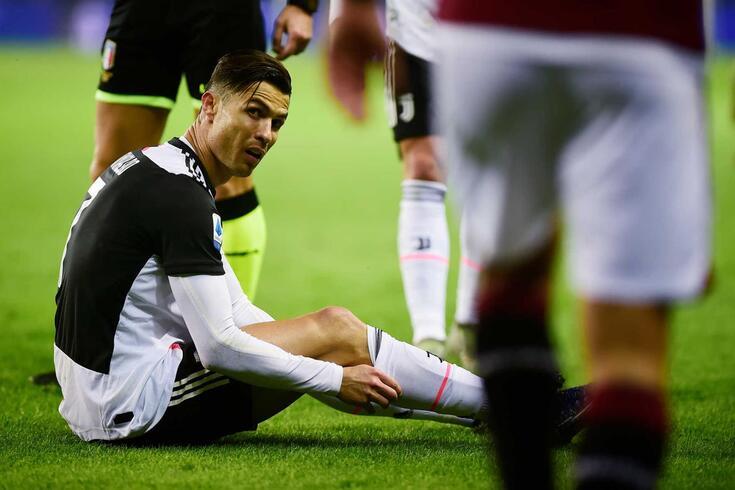 Cristiano Ronaldo, astro da Juventus e da Seleção Nacional