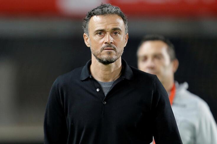 Luis Enrique está de volta ao banco da seleção espanhola