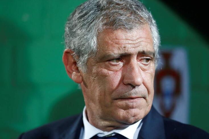 Fernando Santos, selecionador português
