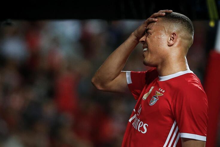 """""""Bom jogo"""" do Benfica não foi bem assim: os dados do desempenho"""