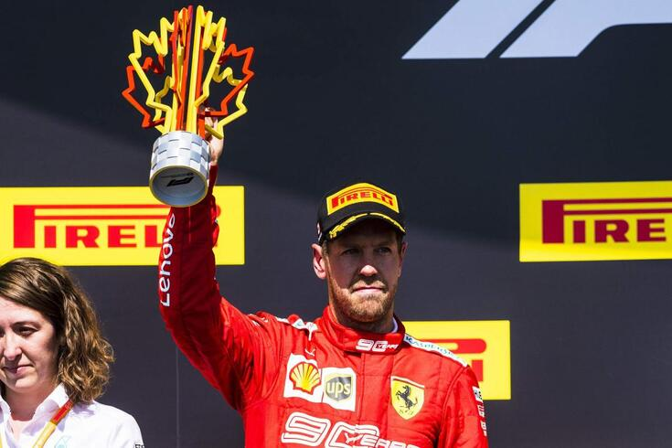 Sem volta: Penalização a Vettel no Canadá mantém-se