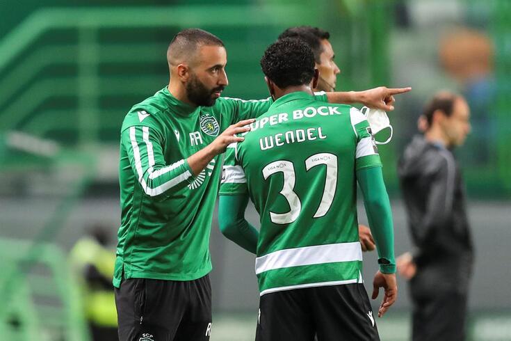 Rúben Amorim prepara nova época e conta com Wendel
