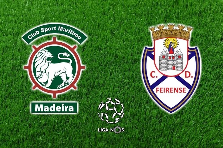 DIRETO | Marítimo-Feirense, 2-0
