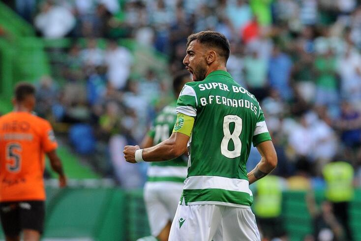 Bruno Fernandes, capitão do Sporting