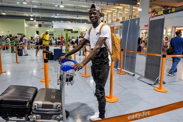 Edgar Ié mudou-se para a Turquia, mas vai jogar na Holanda