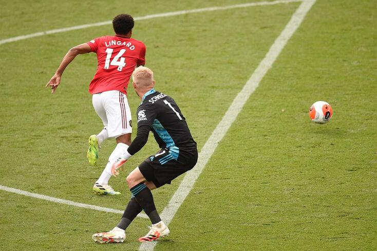 Lingard marcou num dos últimos lances da época