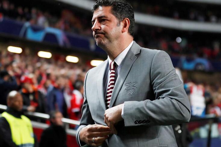 """Rui Vitória e a passagem pelo Benfica: """"Momentos bons e agora um ambiente nada agradável"""""""