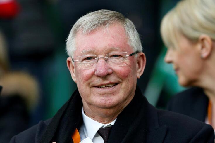 Alex Ferguson recuperou de uma hemorragia cerebral