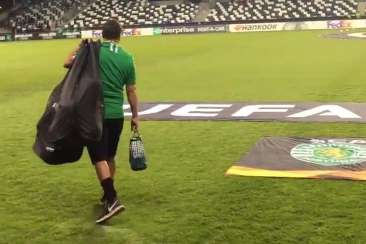 """Paulinho """"antifrio"""" fez furor: sete graus negativos, mas de calções e t-shirt"""