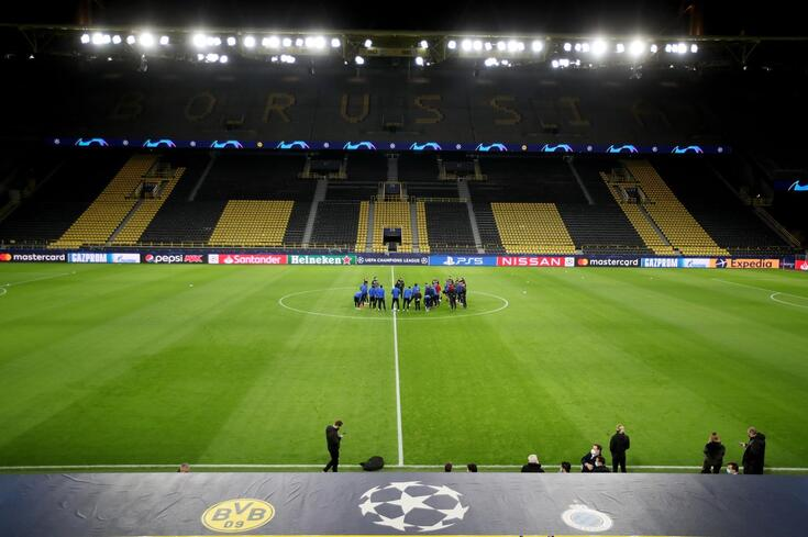 Belgas com missão difícil em Dortmund