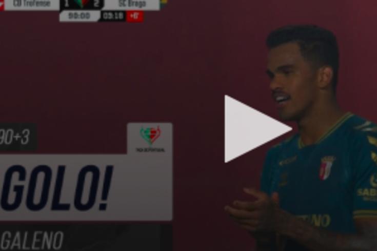 Galeno colocou o Braga na quarta eliminatória da Taça de Portugal