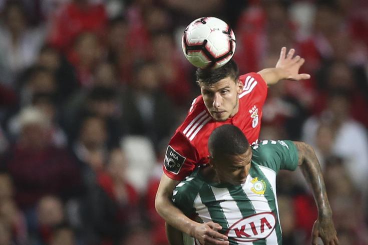 Rúben Dias é um indiscutível no Benfica