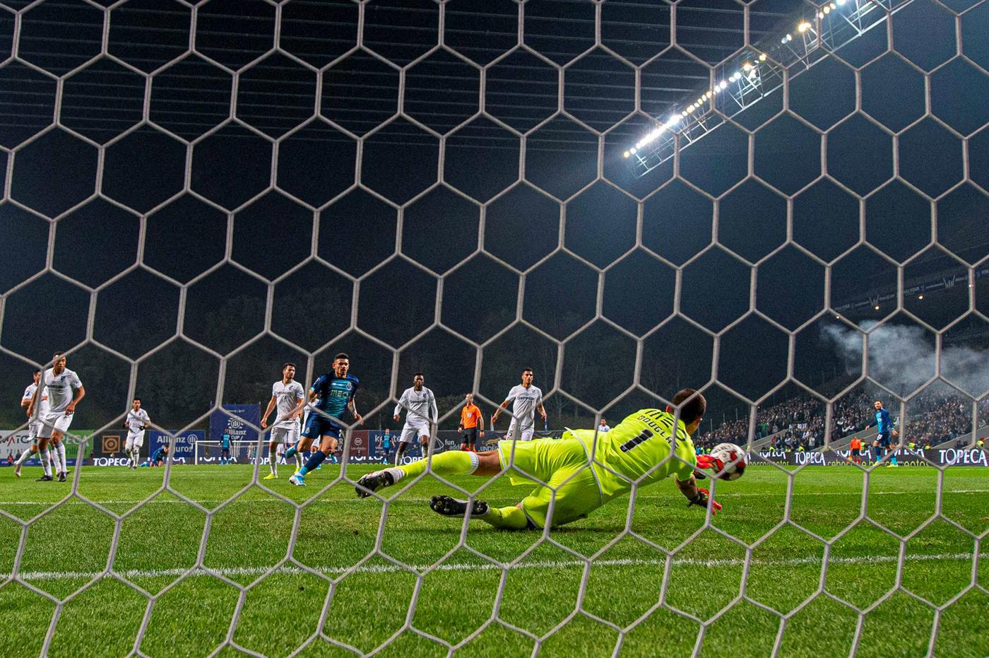 Braga, 22/01/2020 - O Vitória Sport Clube recebeu esta noite, o Futebol Clube do Porto no Estádio Municipal