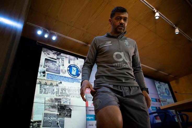 Sérgio Conceição sublinha a maturidade da equipa
