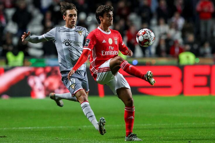 Jota, avançado do Benfica