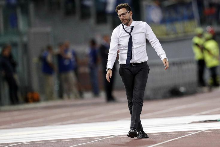 Eusebio Di Francesco, treinador do Roma
