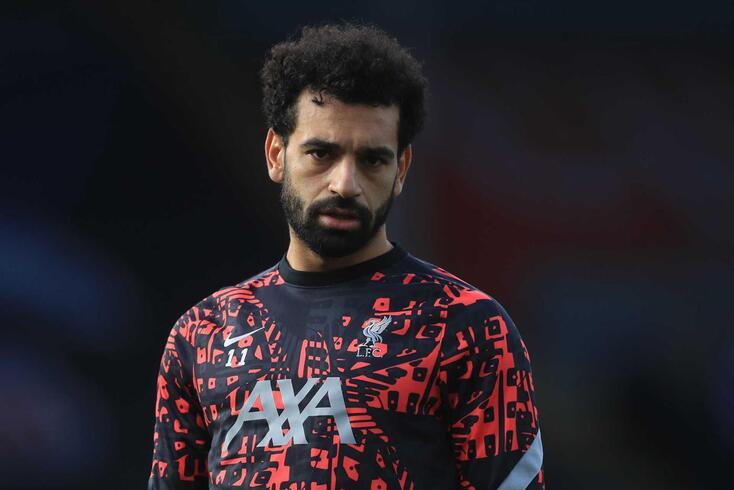Mohamed Salah, jogo do Liverpool