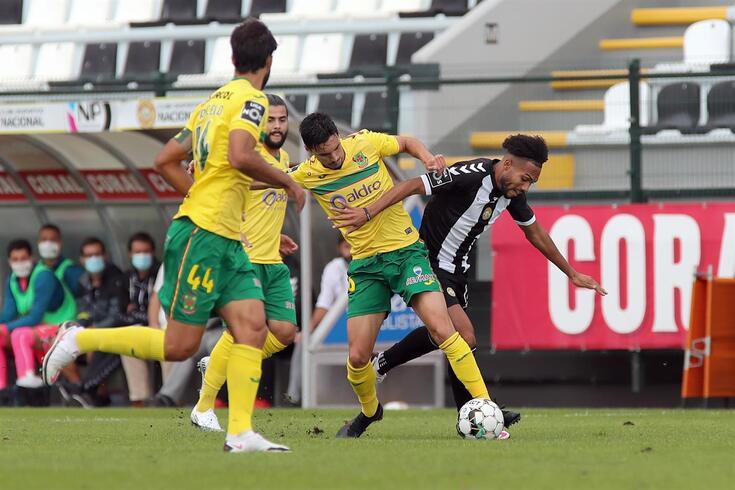 Paços de Ferreira empatou na Madeira, 1-1