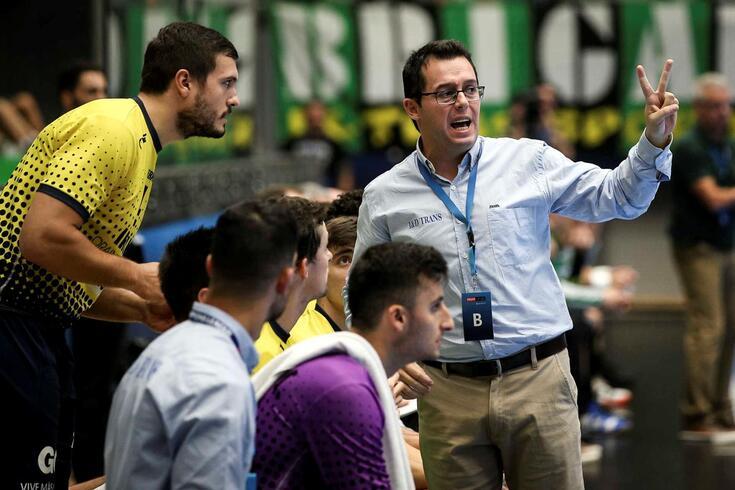 Jacobo Cuétara, treinador do Bidasoa Irun